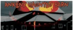 Haunted Barn logo.
